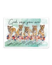 Tiger - God Says You Are Sticker - Single (Horizontal) thumbnail