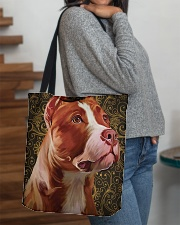 Pitbull Tote Bag  All-over Tote aos-all-over-tote-lifestyle-front-09