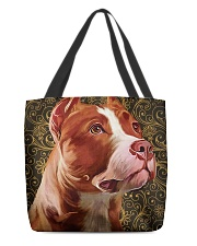 Pitbull Tote Bag  All-over Tote back