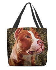 Pitbull Tote Bag  All-over Tote front
