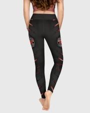 Firefighter Red Pattern Legging High Waist Leggings aos-high-waist-leggings-lifestyle-05