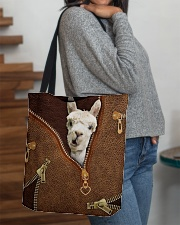 Llama All-over Tote aos-all-over-tote-lifestyle-front-09