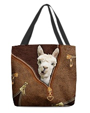 Llama All-over Tote front