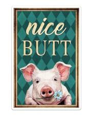 Pig Nice Butt Sticker - Single (Vertical) thumbnail