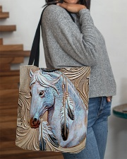 Horse Native Vintage All-over Tote aos-all-over-tote-lifestyle-front-09