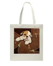 English Bulldog  Tote Bag thumbnail