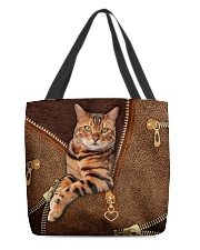 Bengal Cat  All-over Tote front