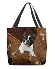Boston Terrier  All-over Tote back