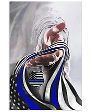 God And Blue America Flag 11x17 Poster front