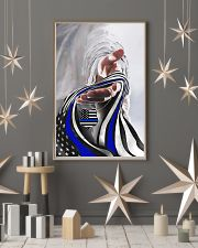 God And Blue America Flag 11x17 Poster lifestyle-holiday-poster-1