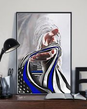 God And Blue America Flag 11x17 Poster lifestyle-poster-2