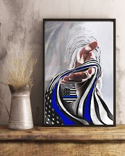 God And Blue America Flag 11x17 Poster lifestyle-poster-3