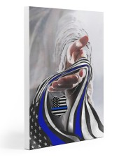 God And Blue America Flag 20x30 Gallery Wrapped Canvas Prints thumbnail