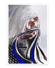 God And Blue America Flag Sticker - Single (Vertical) thumbnail
