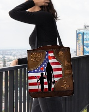 Hockey Mom Tote All-over Tote aos-all-over-tote-lifestyle-front-05