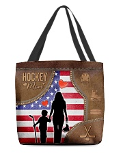 Hockey Mom Tote All-over Tote back