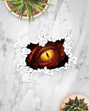 Stiker - Crack Dragon Eye  Sticker - Single (Horizontal) aos-sticker-single-horizontal-lifestyle-front-06