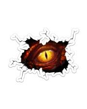 Stiker - Crack Dragon Eye  Sticker tile