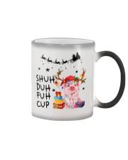 Pig Xmas Shuh Duh Fuh Cup Color Changing Mug thumbnail