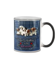 Jack Russell Life  Is Better  Color Changing Mug thumbnail