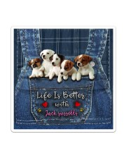 Jack Russell Life  Is Better  Sticker - Single (Vertical) thumbnail