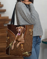 Vizsla All-over Tote aos-all-over-tote-lifestyle-front-09