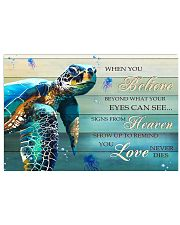 Turtle - When You Believe 17x11 Poster front