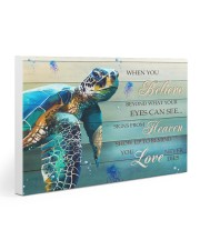 Turtle - When You Believe 30x20 Gallery Wrapped Canvas Prints thumbnail