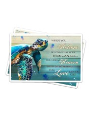 Turtle - When You Believe Sticker - 2 pack (Horizontal) thumbnail