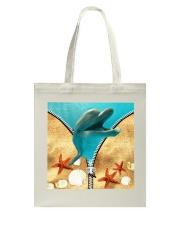 Animal - Dolphin Tote Bag thumbnail