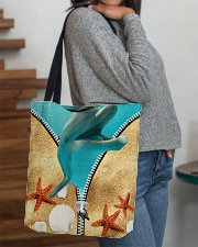 Animal - Dolphin All-over Tote aos-all-over-tote-lifestyle-front-09