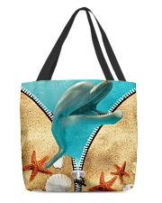 Animal - Dolphin All-over Tote front