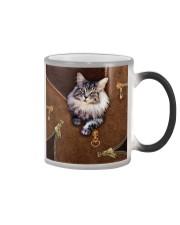 Maine Coon Cat  Color Changing Mug tile