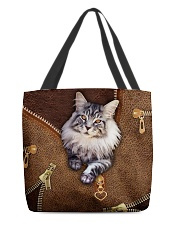 Maine Coon Cat  All-over Tote front