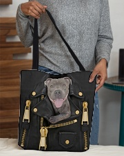Pitbull - Jacket  All-over Tote aos-all-over-tote-lifestyle-front-10