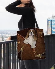 Charles Cavalier King  All-over Tote aos-all-over-tote-lifestyle-front-05