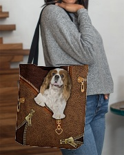 Charles Cavalier King  All-over Tote aos-all-over-tote-lifestyle-front-09