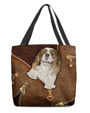 Charles Cavalier King  All-over Tote back