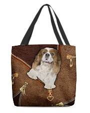 Charles Cavalier King  All-over Tote front