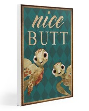 Turtle - Nice Butt Gallery Wrapped Canvas Prints tile