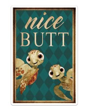 Turtle - Nice Butt Sticker - Single (Vertical) thumbnail