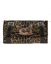 German Shepherd - Leopard - Zip Pocket Cloth face mask thumbnail