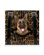 German Shepherd - Leopard - Zip Pocket Sticker - Single (Vertical) thumbnail