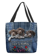 GSP Life Is Better All-over Tote back