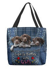 GSP Life Is Better All-over Tote front
