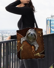 Sloth  All-over Tote aos-all-over-tote-lifestyle-front-05