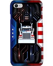 Truck American Electric Phone Case i-phone-8-case