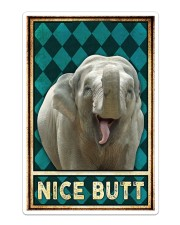 Elephant - Nice Butt Poster Sticker tile