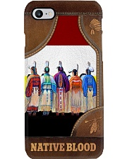 Native Blood Leather - like Phonecase Phone Case i-phone-8-case