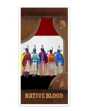 Native Blood Leather - like Phonecase Sticker - Single (Vertical) thumbnail